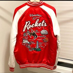 Houston Rockets Bomber Jacket
